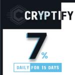 最新HYIP(ハイプ)投資のCRYPTIFY!5月2日スタートの案件を紹介!