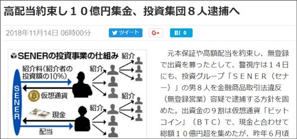 セナー刑事事件(詐欺)
