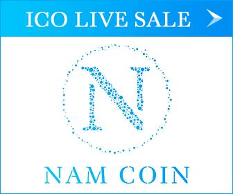 仮想通貨のICOのNAMコインのロゴ
