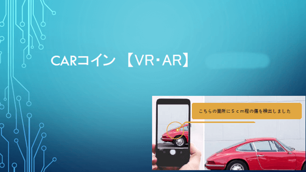 カーコインのAR/VR技術