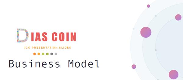 ディアスコインのICOプロジェクトのビジネスモデル