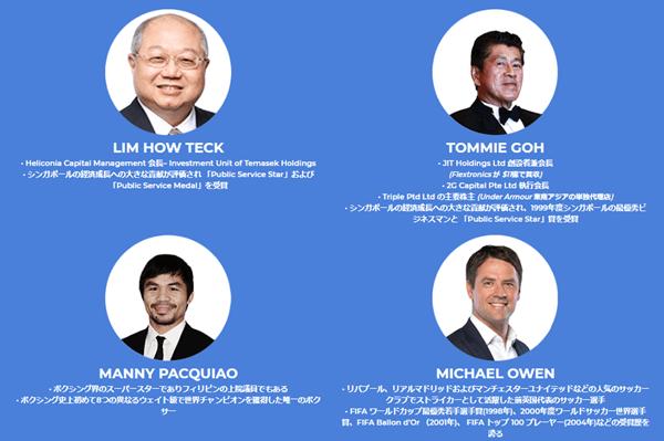 GCOXの個人投資家