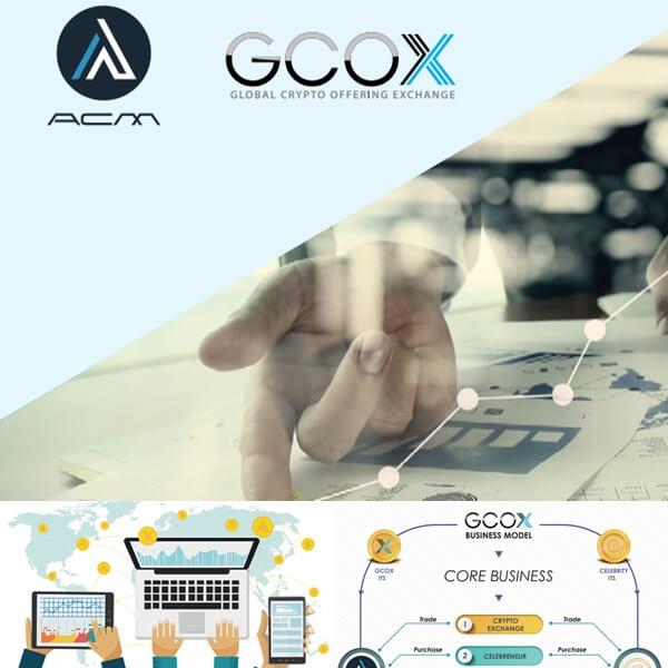 GCOX(ジーコエックス)ICO最新情報|仮想通貨の内容・評判・買い方?取引所の設立!