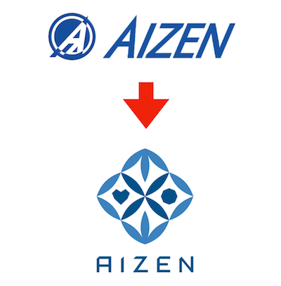 AIzenのロゴがリニューアル