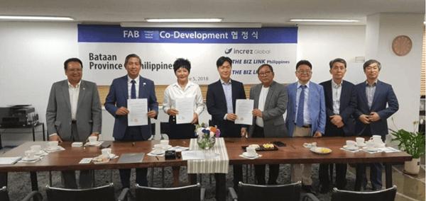 インクリーズ財団とフィリピン政府関係者の対談