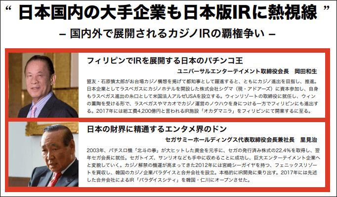 日本版カジノIRに対する意見
