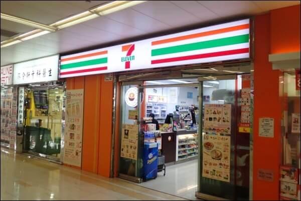 香港のセブンイレブン