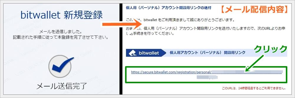 ビットウォレットの新規登録方法