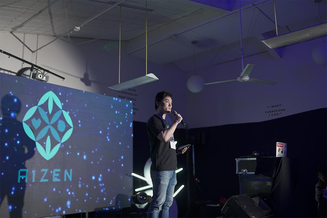 AIzenプロジェクトの開発者の小野寺氏