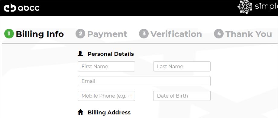 ABCC取引所のクレジットカード決済による入金方法