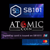 アトミックコインとSB101取引所
