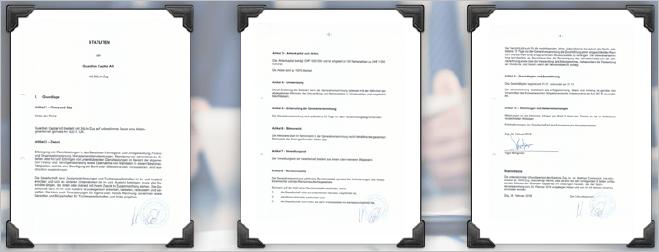 GCGアジアの登記簿情報