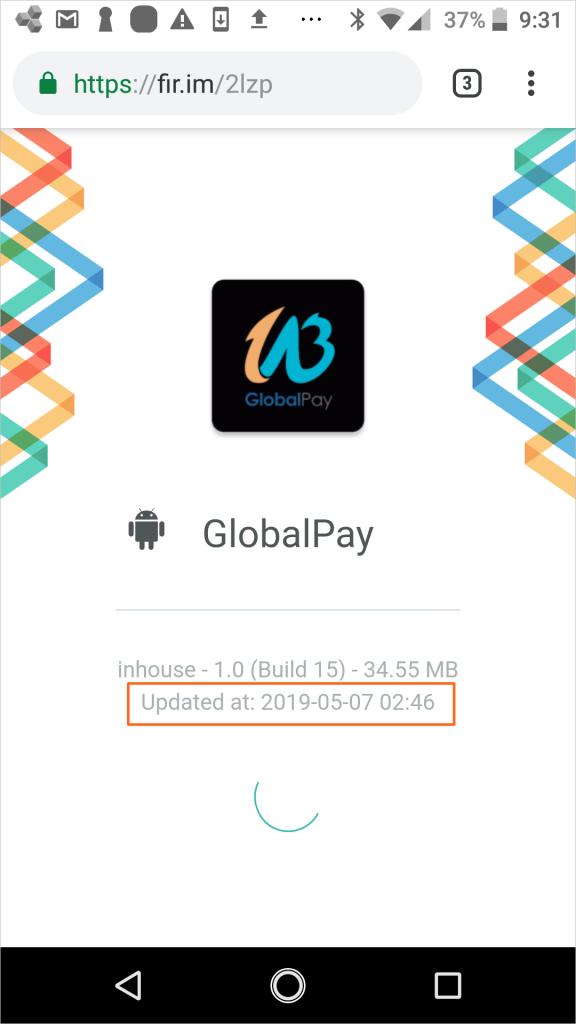 グローバルペイ最新バージョン1.1