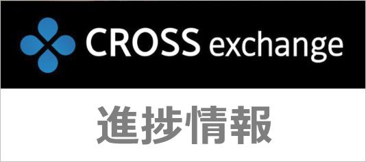 クロスエクスチェンジの進捗情報