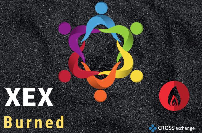 20190902クロスエクスチェンジのXEX焼却のお知らせ