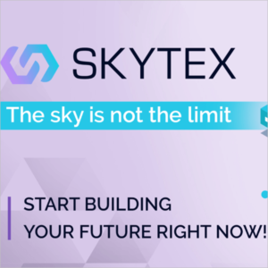 SKYTEXとは?月利17%配当!ウォレット概要・登録・アプリ使い方!