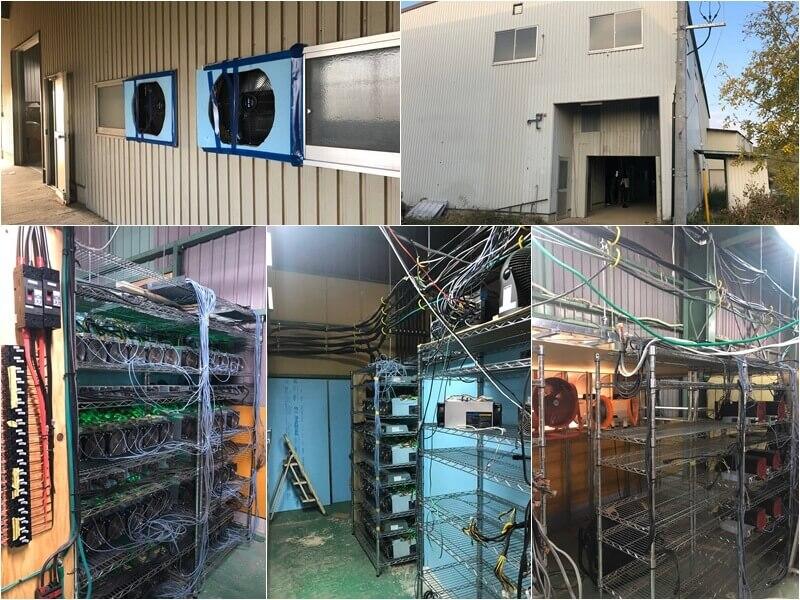 フィルコマンドのマイニング工場見学ツアー