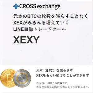 XEXYとは?自動売買ツール|クロスエクスチェンジ専用!元金が減らない仕組みは?