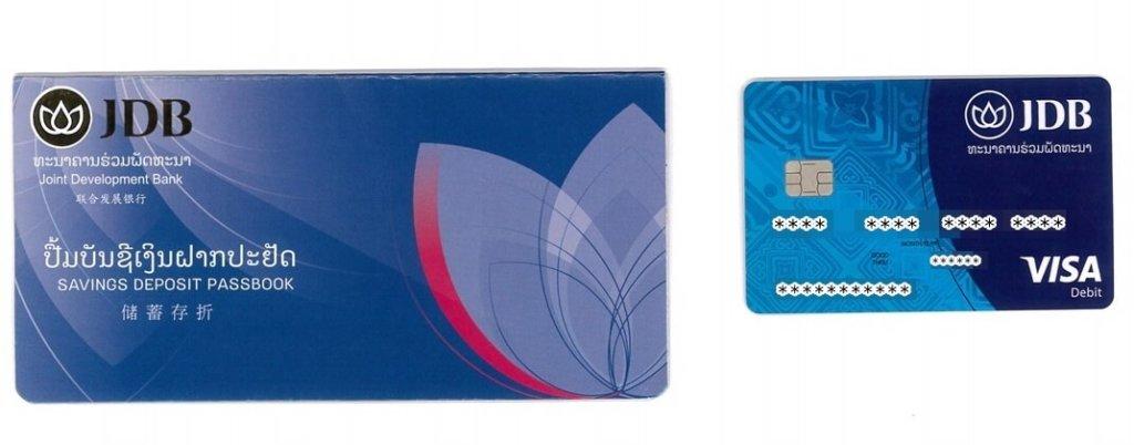 lexxpayカードと通帳が到着
