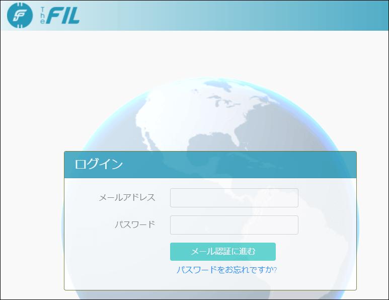 thefilログイン
